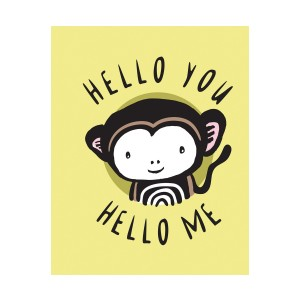 Wee Gallery Hello You Hello Me Baby Book