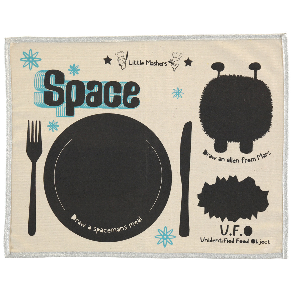Little Mashers Placemat in Space