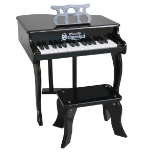 Schoenhut Baby Grand Piano in Black