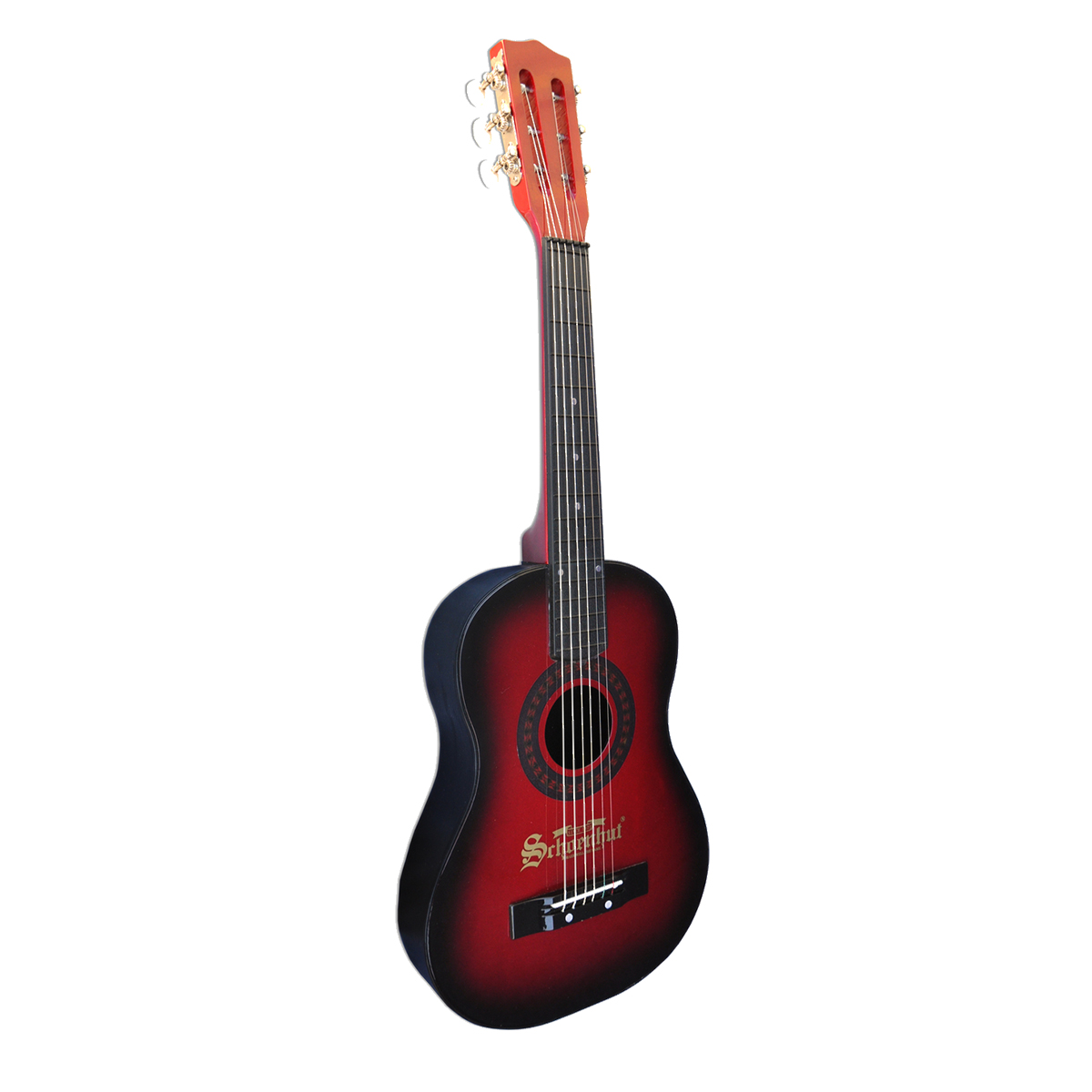 Schoenhut Guitar in Red & Black