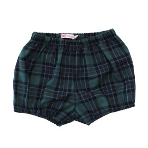 Amaia Magpie Bloomer in Green Check
