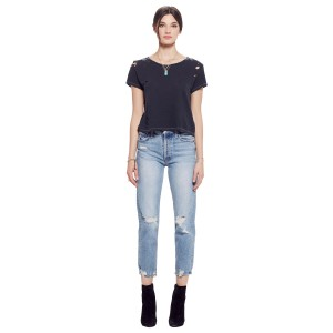 Mother Denim Tomcat Jean on woman