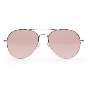 Junia Zap Sunglasses in Rose Gold