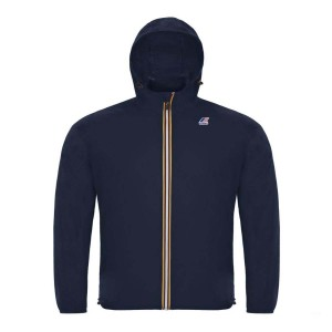 K-WAY Claudine Jacket in Blue