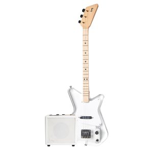 Loog Pro Electric Guitar in Lucite