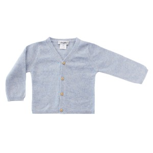 Les Lutin Gabin Cardigan Sweater in Baby Blue