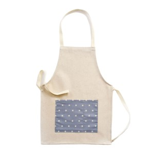 Tangerine Toys Linen Apron in Grey