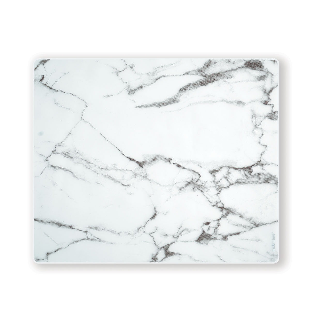Modern Twist Silicone Placemat in Marble