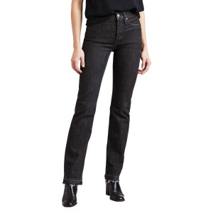 Levi's Women's Wedgie Fit Straight Jean in Dark Secret