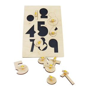 AndMe Wooden Numbers Puzzle
