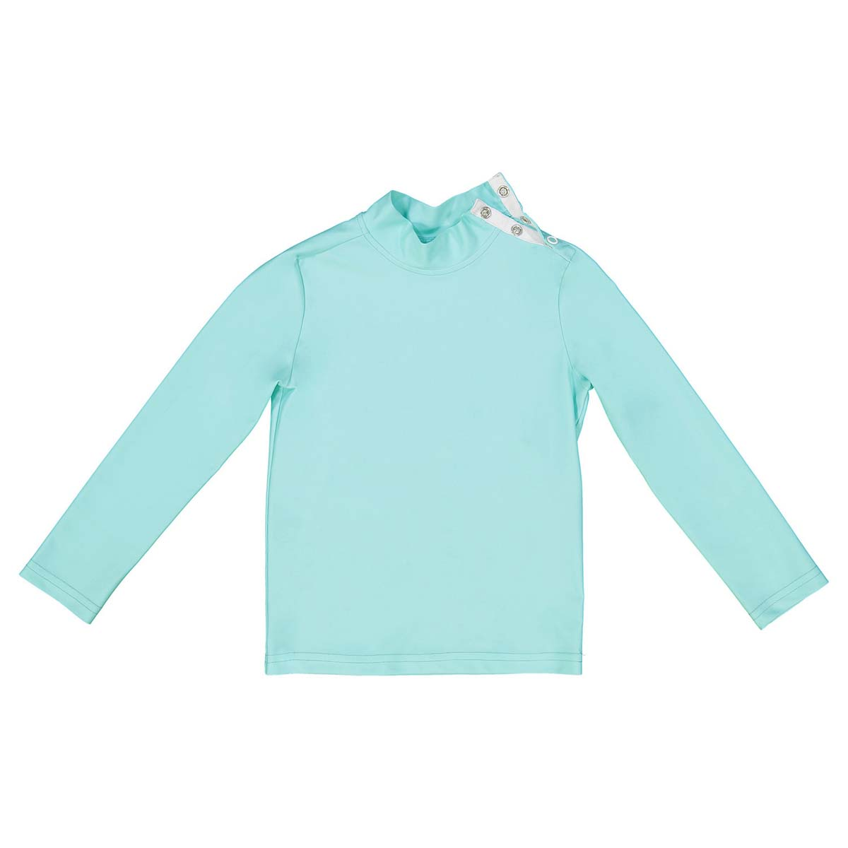 Canopea Turbot Rashguard in Aqua Green