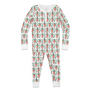 Roberta Roller Rabbit Holiday Monkey Mas Kids PJ Set