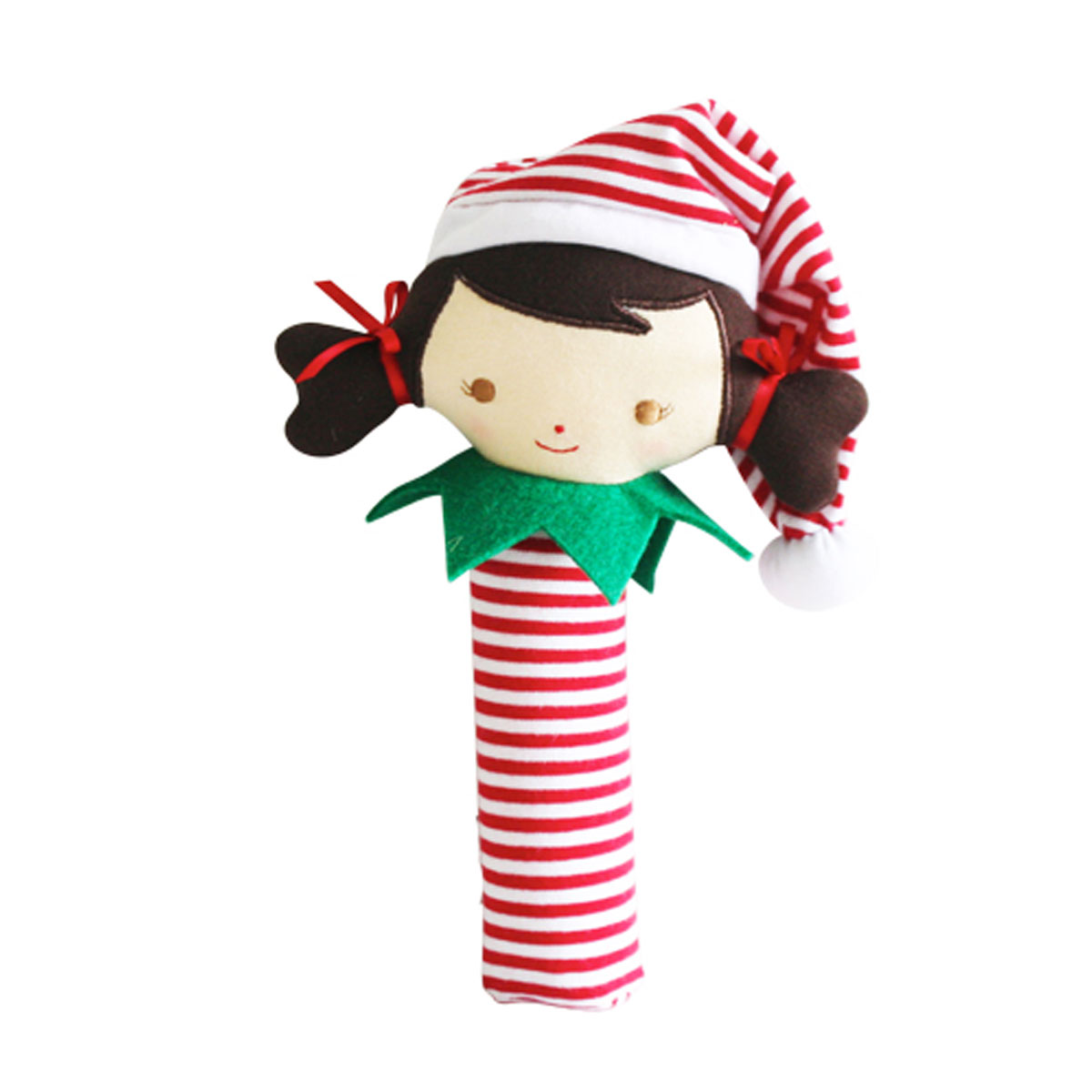 Alimrose Plush Elf Girl Squeaker Toy