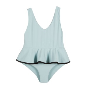 Marysia Bumby Piana Maillot in Pool Blue