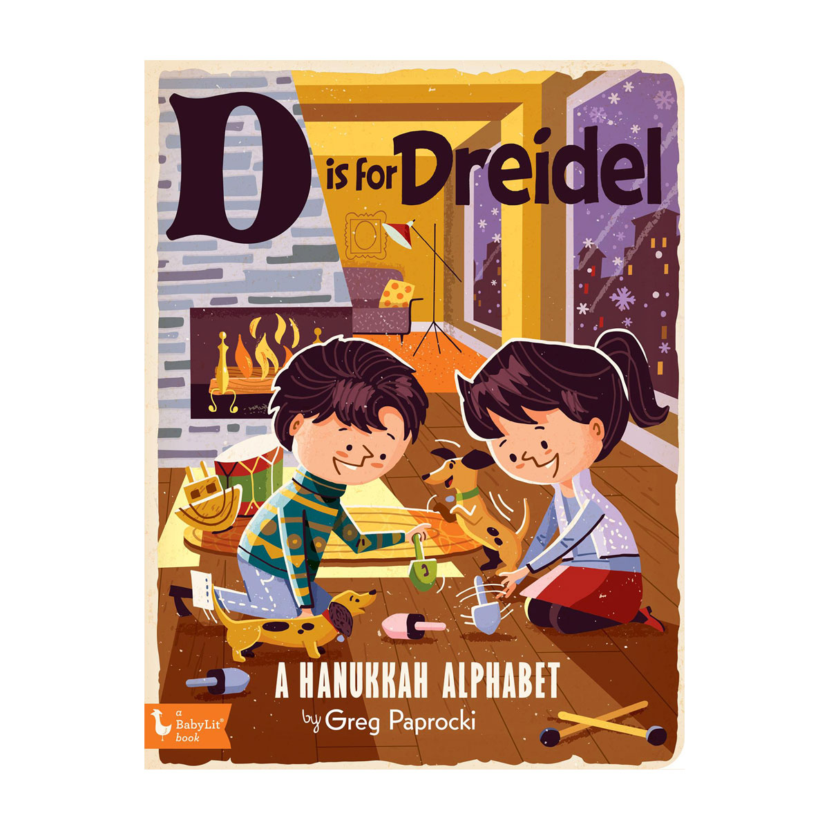 Tiny Bee Gift D Is For Dreidel Book