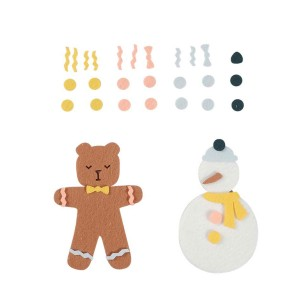 Fabelab Felt Winter Friends Activity Kit