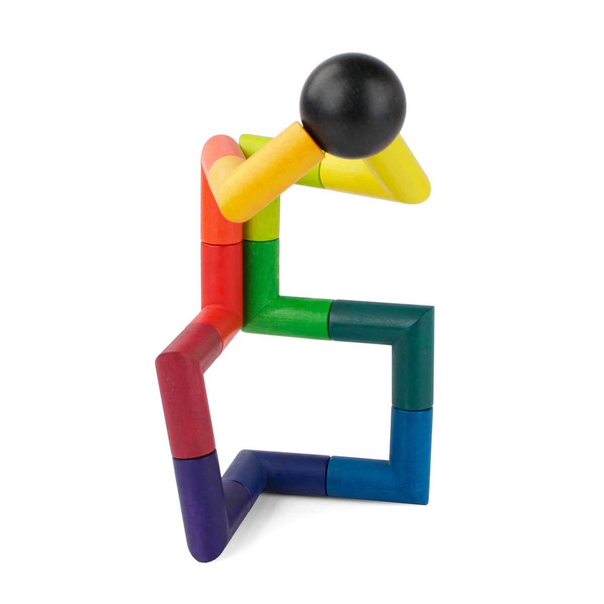 PlayableArt Angle Toy in Rainbow