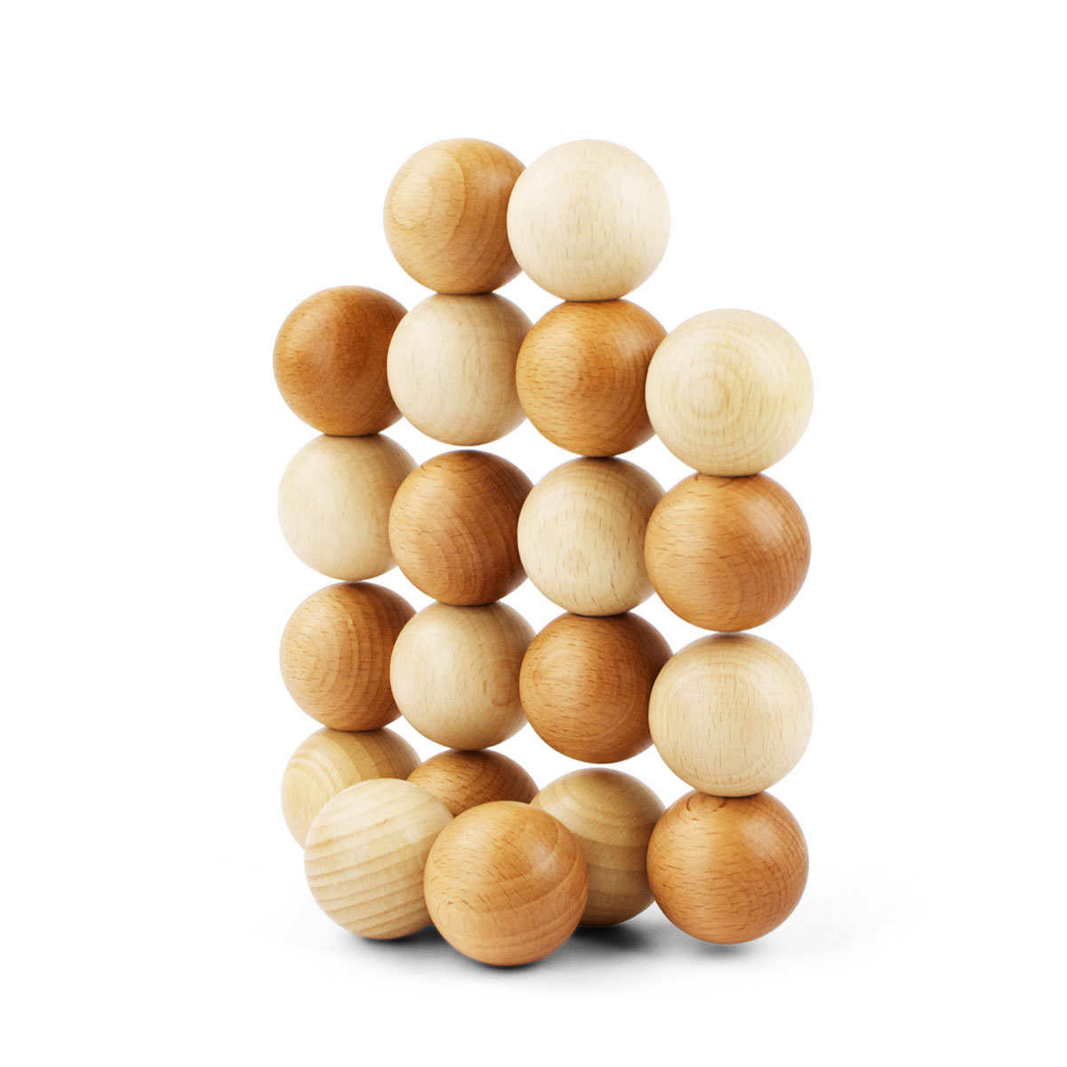 PlayableArt Ball Toy in Natural