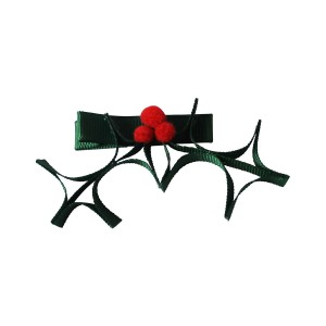 Milledeux Holly Shaped Hair Bow