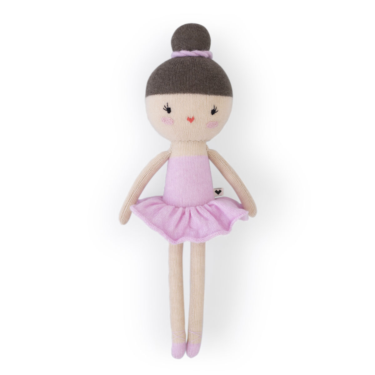Lauvely Plush Anna Ballerina Doll in Pink