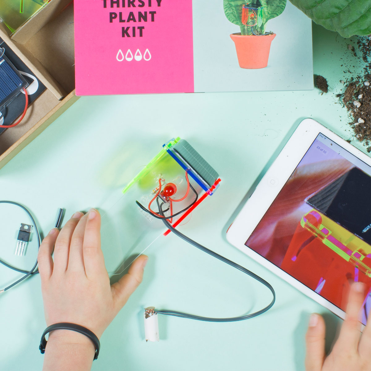 Tech Will Save Us Thirsty Plant Kit Thetot