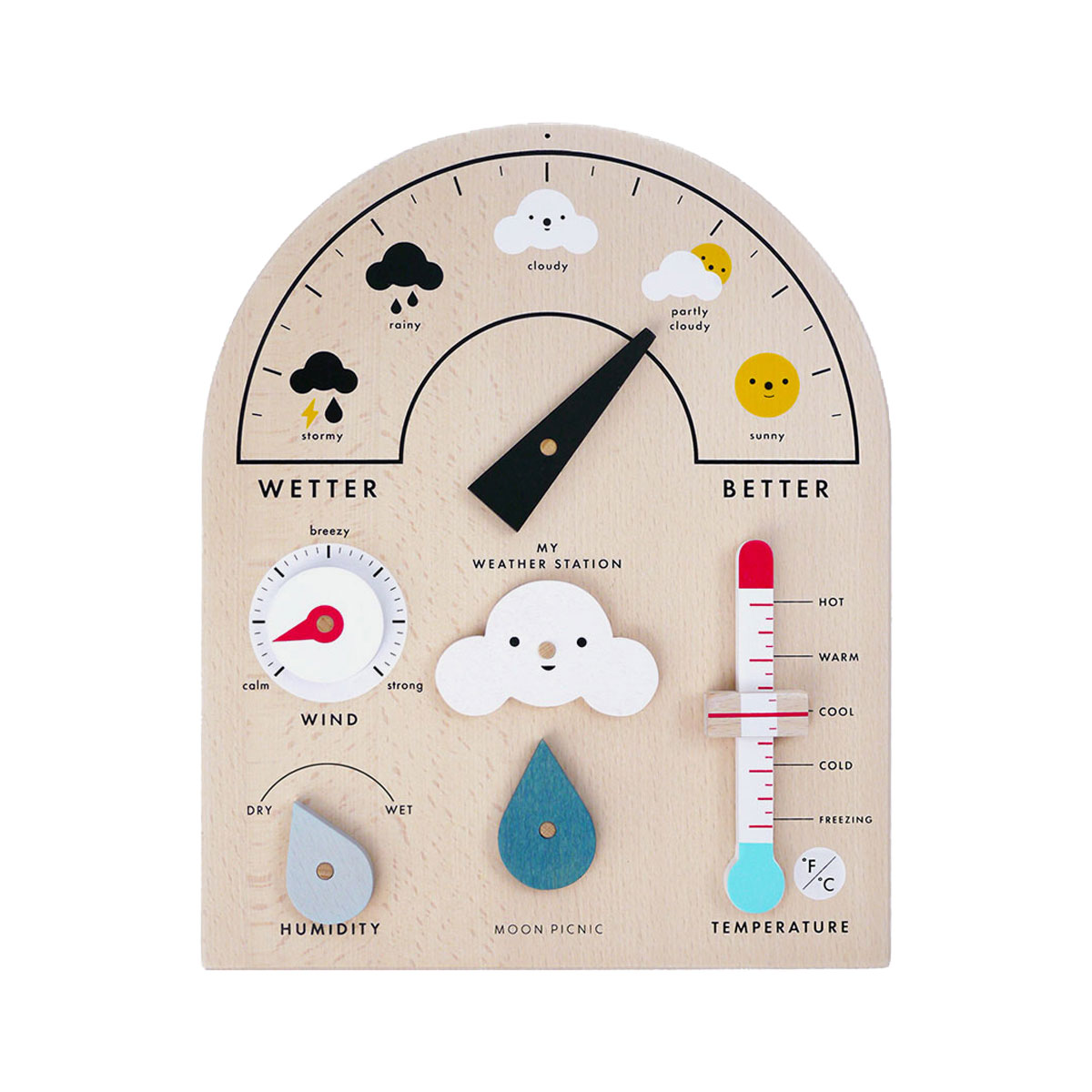 Moon Picnic My Weather Station Toy