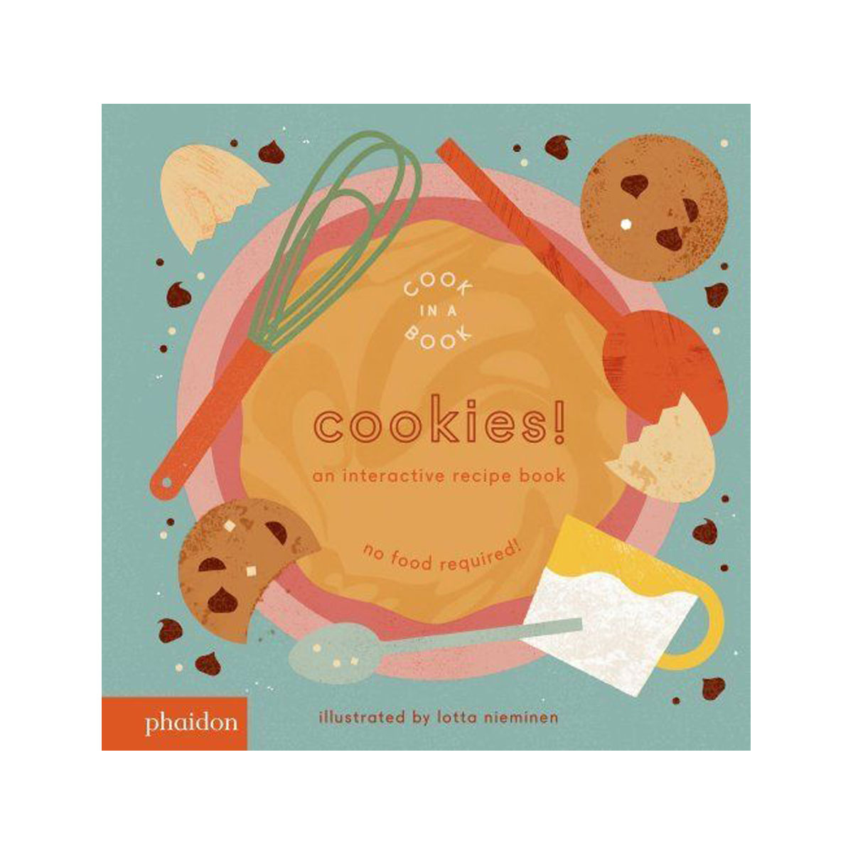 Phaidon Cook In A Book Book in Cookies