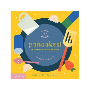 Phaidon Cook In A Book Book in Pancakes