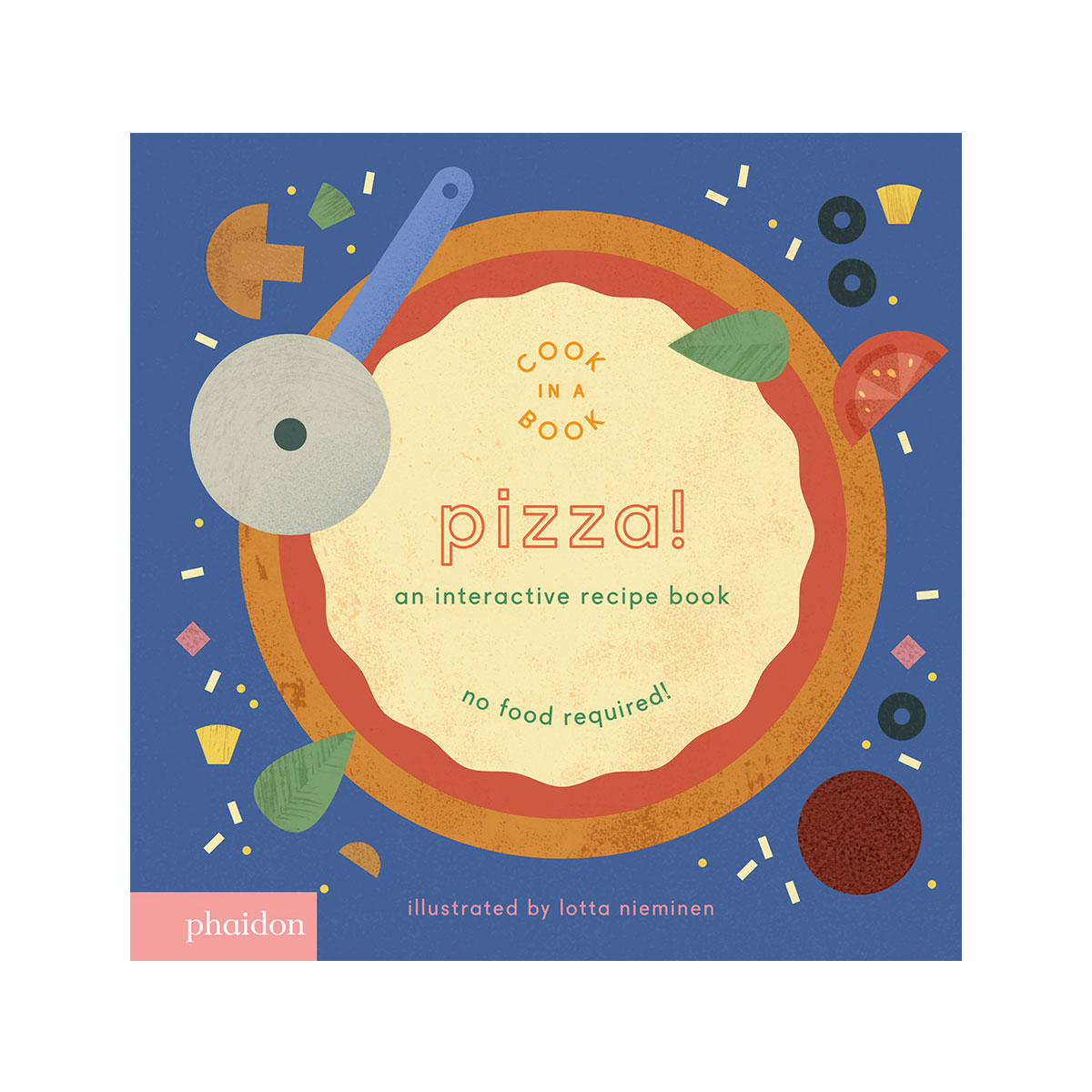 Phaidon Cook In A Book Book in Pizza