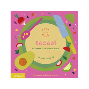 Phaidon Cook In A Book Book in Tacos