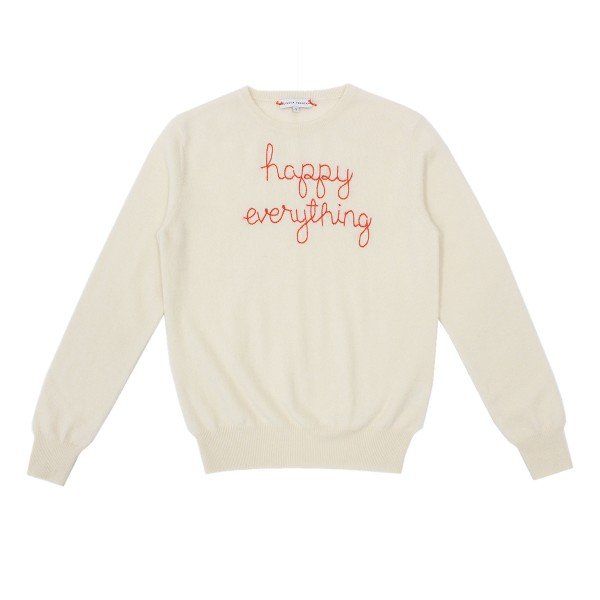 LinguaFrancaAW19SweaterAdultIvoryEverything