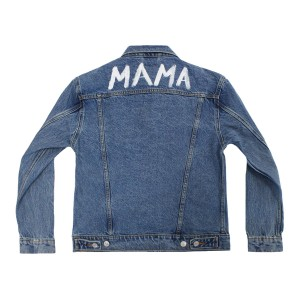 Levi's Women's Denim Jacket with custom paint on the back