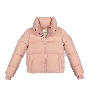 Sam NYC Girl's Puffer Sophia Coat in Light Pink