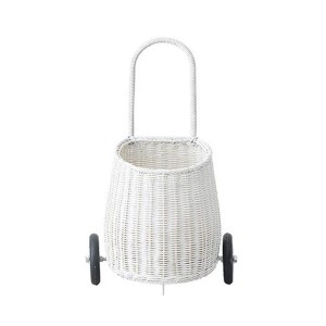 Olli Ella Luggy Basket in White