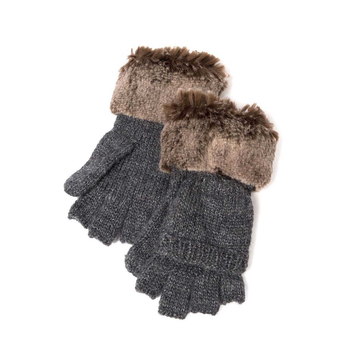 Appaman Timid Convertible Mittens in Grey