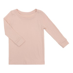 HART + LAND Long Sleeve Tee in Sepia Rose