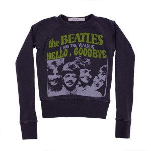 Junk Food Dark Grey Beatles Band Pullover