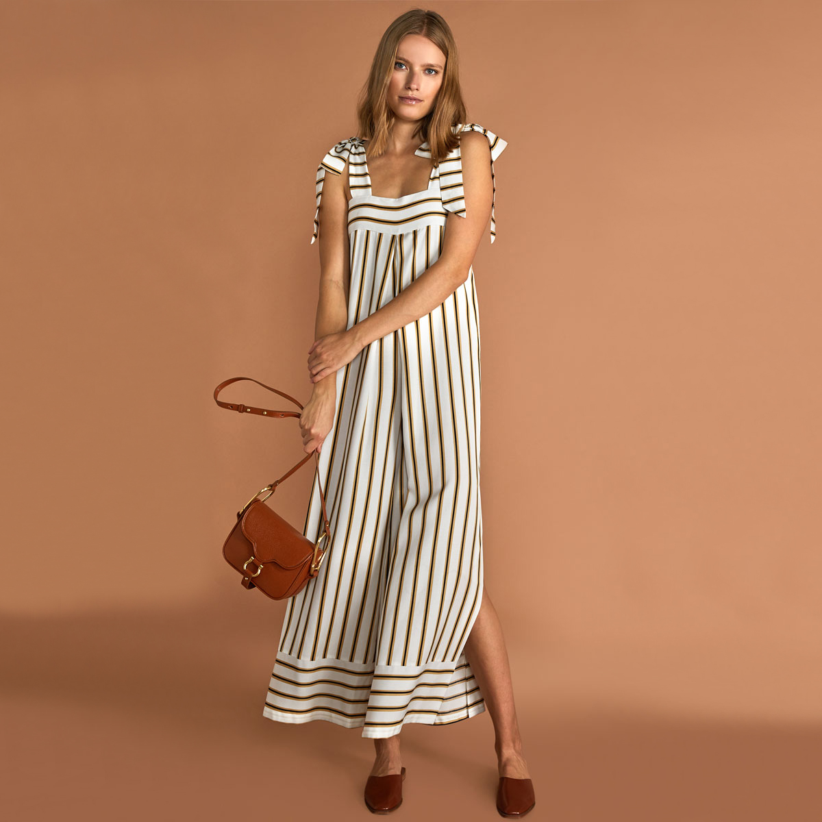 Sancia Thalita Jumpsuit in Cilou Stripe on woman