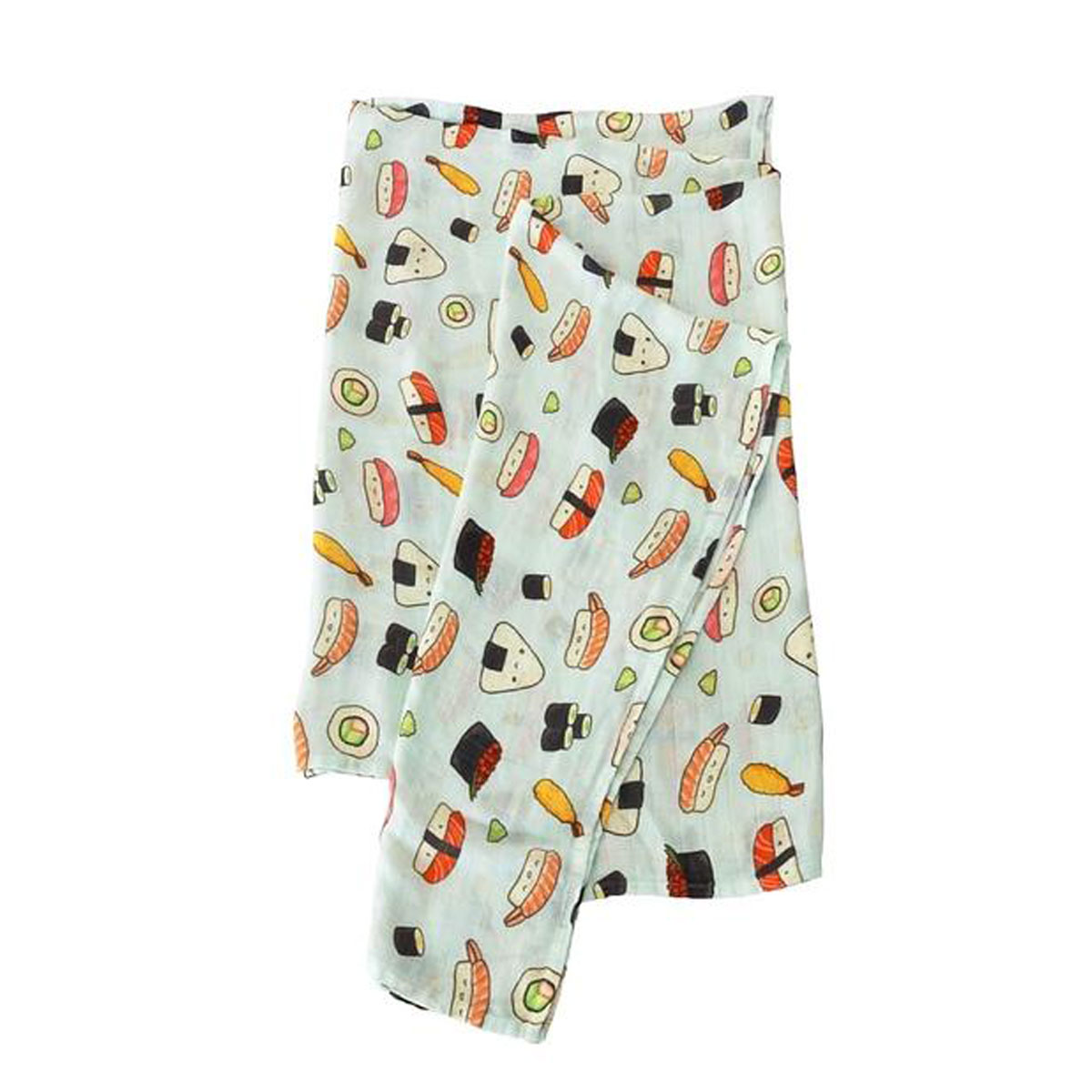 Loulou Lollipop Swaddle in Sushi