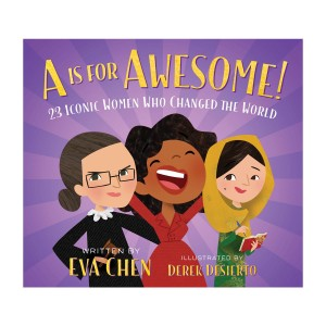Eva Chen A Is For Awesome Board Book