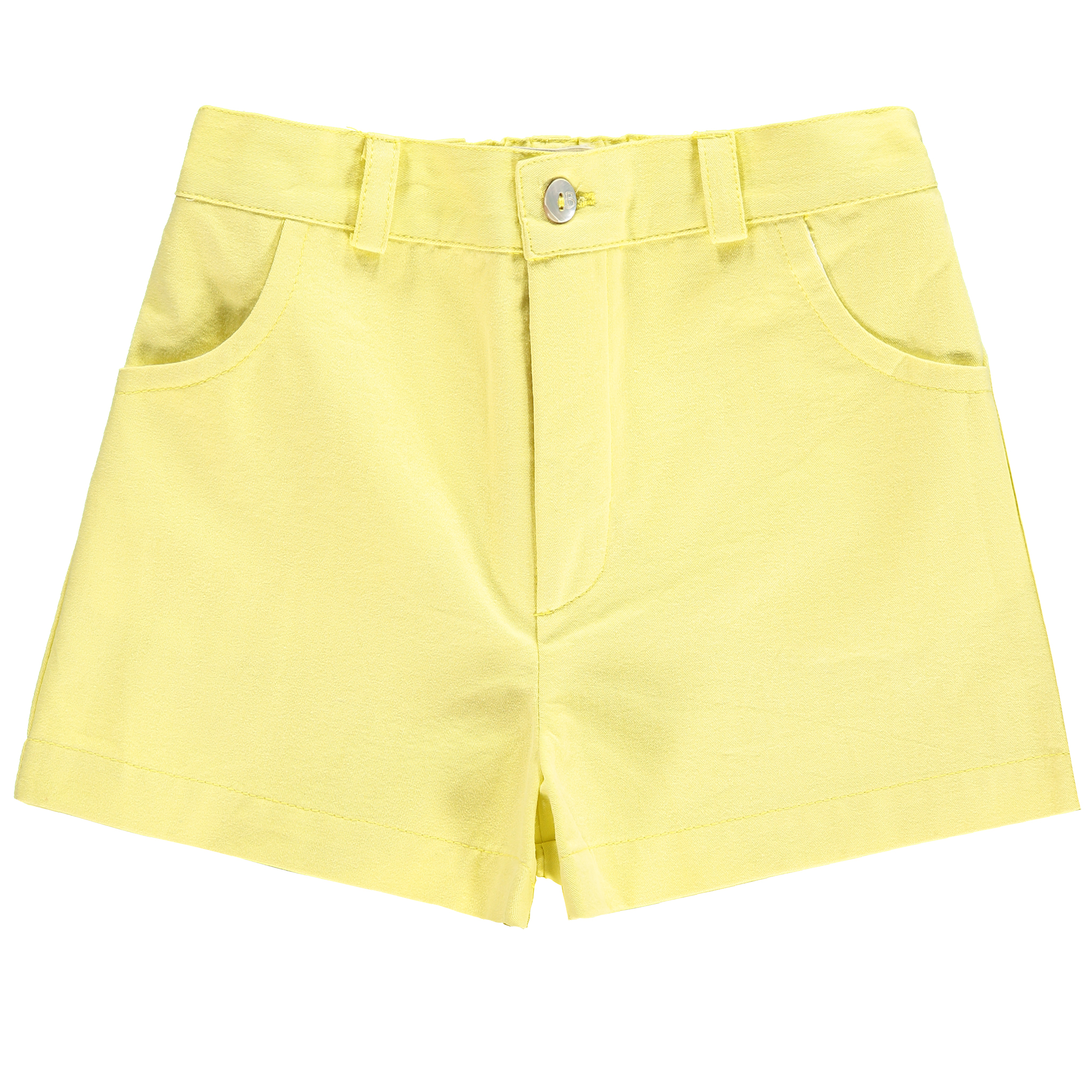 Benedita SS19 Shorts Boy in Yellow