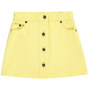 Benedita SS19 Skirt Mini in Yellow