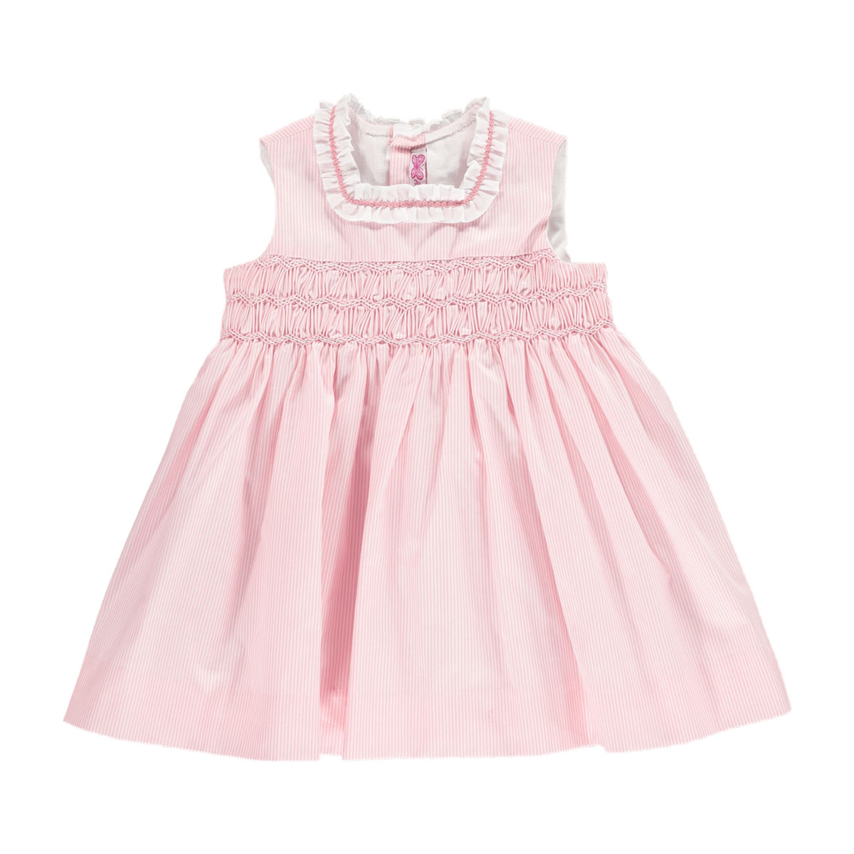 Amaia Sleeveless Eugenie Dress in Pink
