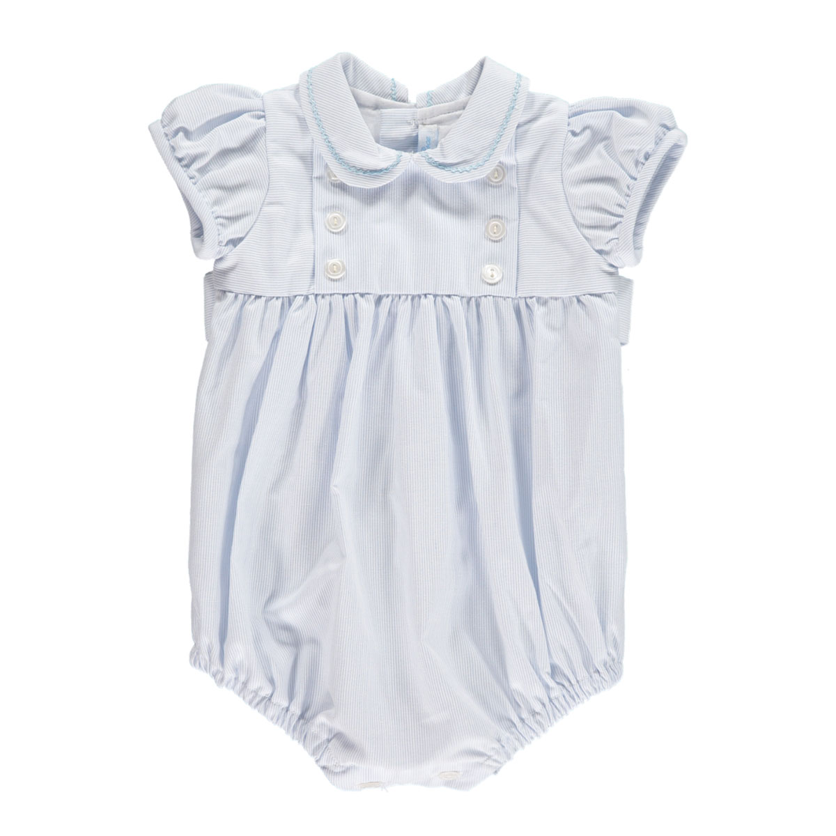 Amaia Baby Doll Romper in Pale Blue