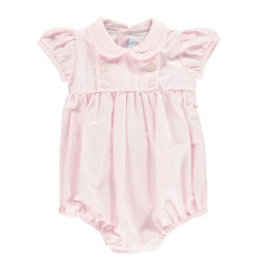 Amaia Baby Doll Romper in Pale Pink