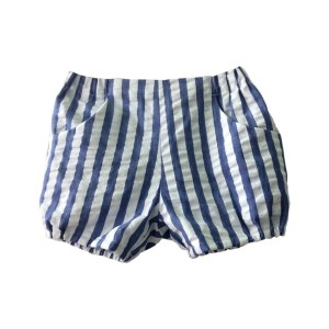 Amaia Magpie Shorts in Blue Stripe