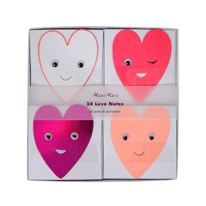Meri Meri Winking Hearts Notecards