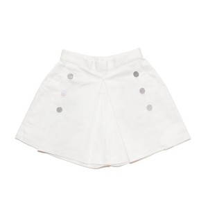 Moque Claire Shorts in White