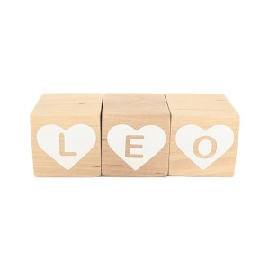 Modern Blocks Custom Heart Block Set
