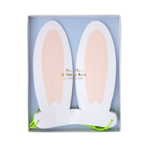 Meri Meri Pastel Bunny Ears Pack of 8 in 4 Colors